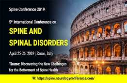 Spine Conference 2019